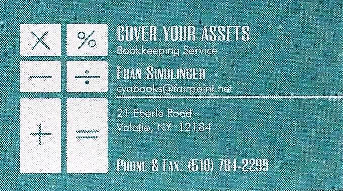 Cover Your Assets Biz Card