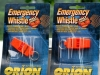 Emergency Whistles $5