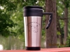 Stainless Steel Travel Mug $10
