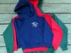 Kids Hooded Sweatshirt (small logo) $15