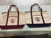 Large Boater's Canvas Totes $20 (new for 2021)