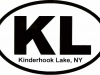 'Kinderhook Lake' Bumper Stickers $2.50