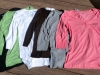 Women's Henley 3/4 Sleeve $18