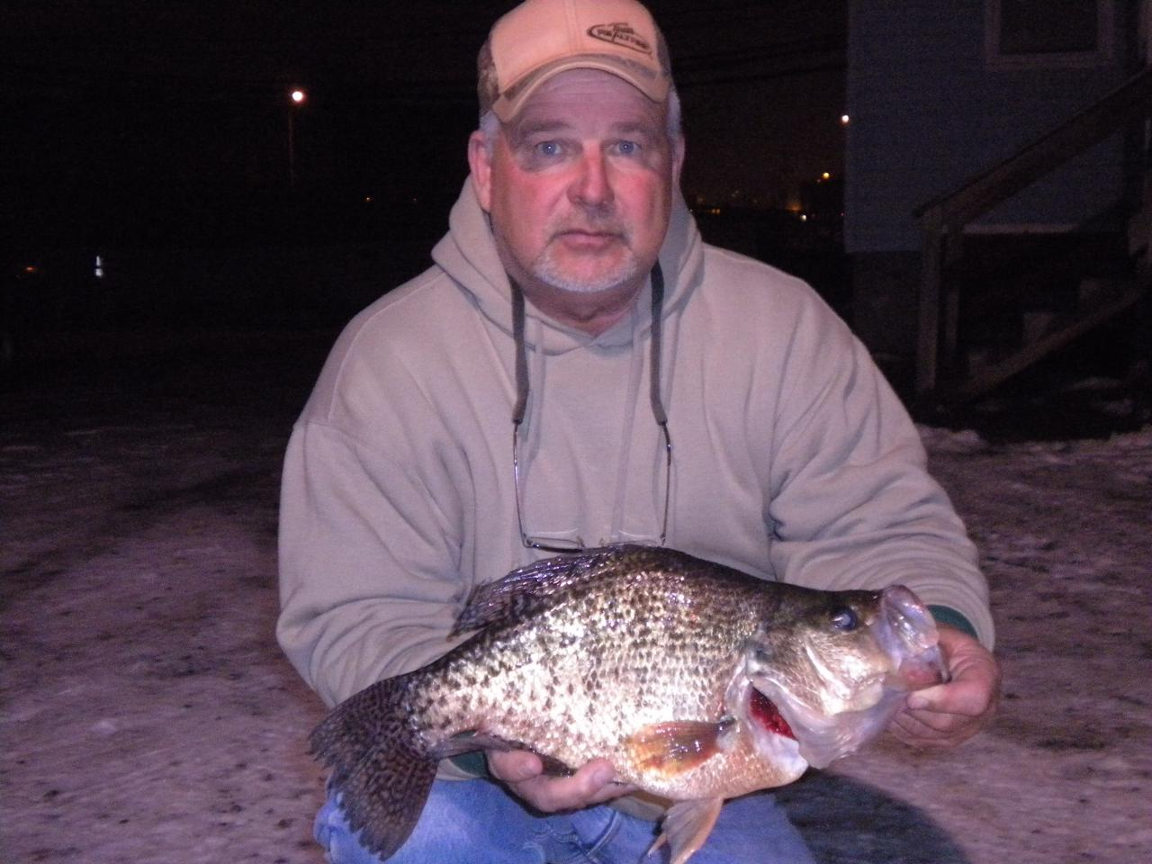 World Record Crappie for Pinterest